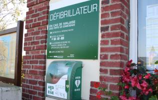 Conteville (Eure) DAE Défibrillateur Automatique Externe