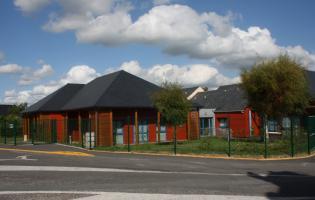 Conteville (Eure) L'école Francis Mouchet
