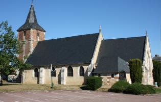 Conteville (Eure) L'Eglise, patrimoine remarquable
