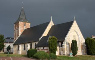 Conteville (Eure) L'église