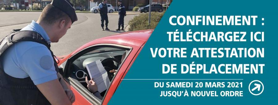 La gendarmerie veille au respect des règles du confinement