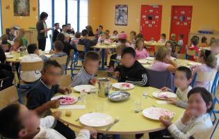 Conteville (Eure) La cantine scolaire