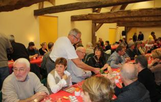 Conteville (Eure) Repas du Téléthon - Comité des fêtes