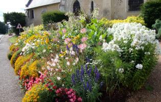 Conteville (Eure) Fleurissement du bourg