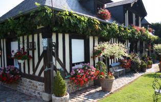 Conteville (Eure) Concours Fleurissement - Ferme