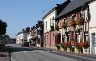 Conteville (Eure) Le bourg