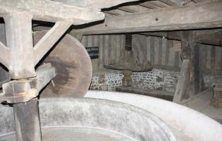 Conteville (Eure) Le mécanisme du pressoir du XVIIIème